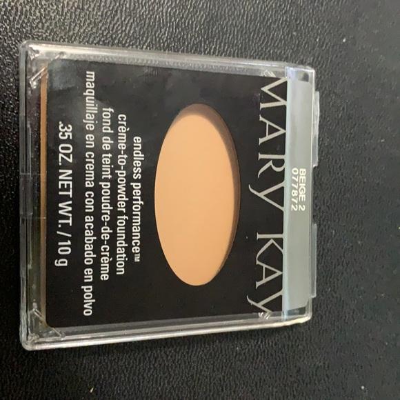 Endless performance cream to powder foundation